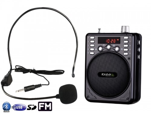 Mini boxa portabila Ibiza Sound PORT1-BT,30W