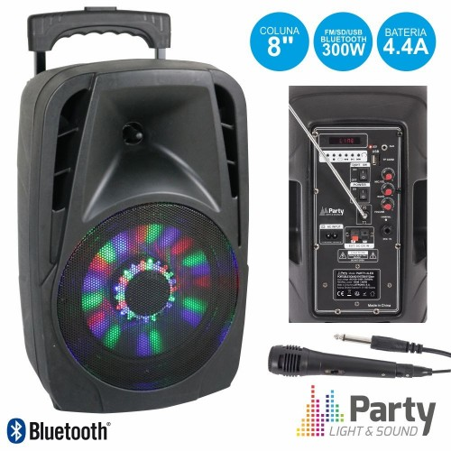 Boxa portabila Party Light &Sound PARTY-8LED,300W