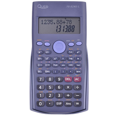 Calculator stiintific Quer FB-82MS-L ,240 functii