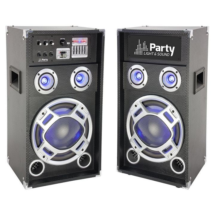 Sistem boxe audio Party Light &Sound Karaoke12,600W,Bluetooth /SD/AUX