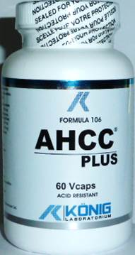 AHCC PLUS Forte 700 mg 60 capsule vegetale