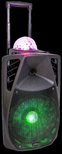 Boxa portabila cu radio FM  Party Light & Sound Party 12ASTRO, 700W
