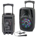 Boxa portabila cu iluminare LED Party Light &Sound PARTY-8LED,300W
