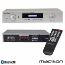 Amplificator Hi-Fi stereo Madison MAD1400BT-WH