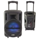 Oferta speciala :Boxa activa portabila Party Light &Sound,USB,SD,Radio