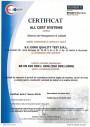 Certificarea Sistemului de Management al Calitatii pentru EURO QUALITY TEST