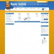 Website pentru firma SC Basic Safety SRL