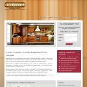 Website pentru firma SC Artchet SRL