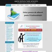 Website pentru firma AMOS DEZVOLTARE AFACERI