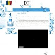 Website pentru firma S.C. APA CU DUH S.R.L.