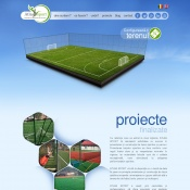 Website pentru firma Atlas Sport SRL