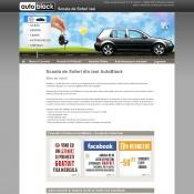 Website pentru firma AutoBlack Group