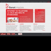 Website pentru firma Interlink Banat