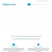 Website pentru firma Clean Solution