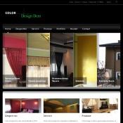 Website pentru firma Color Design Dem