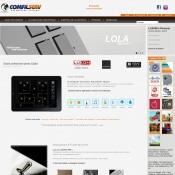 Website pentru firma COMFIL SERV srl