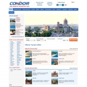 Website pentru firma CONDOR INVEST