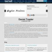 Daniel Toader - Web designer si developer