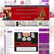 Website pentru firma SC Diva Life Cosmetics SRL