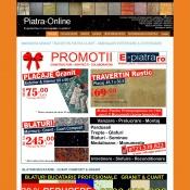 Website pentru firma DDS PIATRA NATURALA MARMURA SI GRANIT