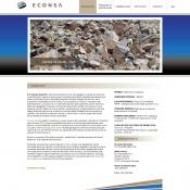 Website pentru firma S.C. ECONSA GRUP S.A.