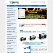 Website pentru firma Ab Instal Eco Universal