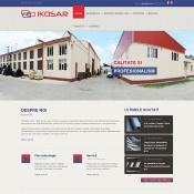 Website pentru firma SC IKOSAR SRL