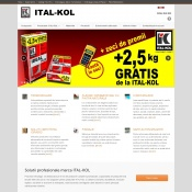 Website pentru firma Ital-Kol