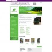 Website pentru firma s.c. naturaserv s.r.l.
