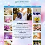 Website pentru firma Agentia Preference