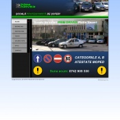 Website pentru firma Prim Driver SRL
