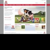 Website pentru firma Cargill Nutritie Animala S.R.L.