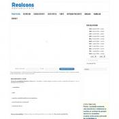 Website pentru firma realcons grup