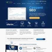 Website pentru firma Hollo Marketing Solutions