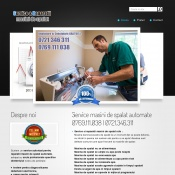 Website pentru firma ServiceReparatiiMasiniSpalat