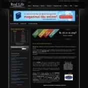 Real Life SRL ofera servicii de webdesign, gazduire, domenii