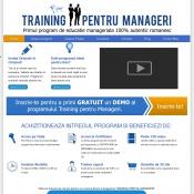 Training Pentru Manageri - educatie manageriala