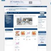 Website pentru firma Centru de Formare Profesionala Transilvania