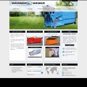 Website pentru firma Werner & Weber GmbH.