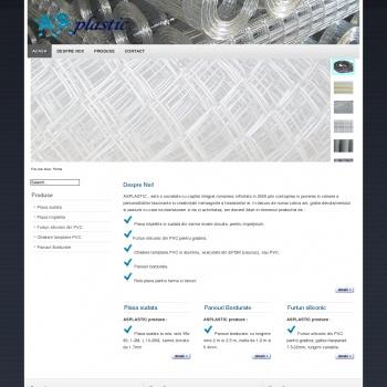 Asplastic Galati produce plasa gard, plasa impletita si sudata