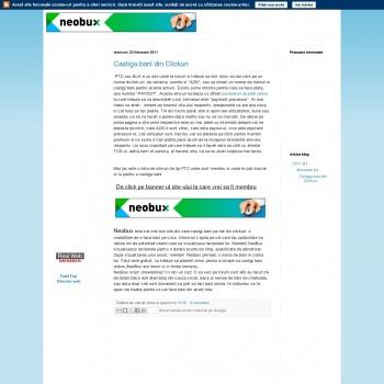 Website publicat de dumitru