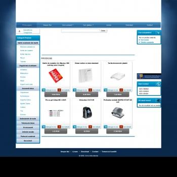 Website pentru firma SC Cornul Abundentei SRL
