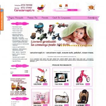 Website pentru firma Besimpro SRL