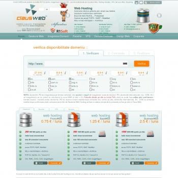 servicii de gazduire web si inregistrare domenii