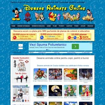 Desene Animate Online Disney pentru copii parinti si bunici