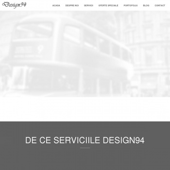 Website pentru firma INNOVATIVE WEB PROJECTS