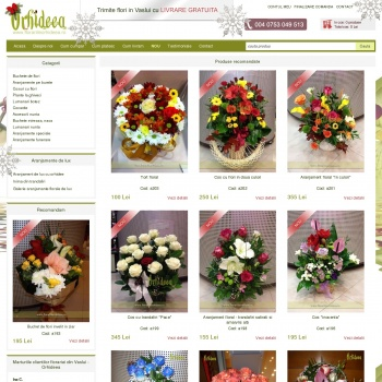Floraria online Orhideea din Vaslui