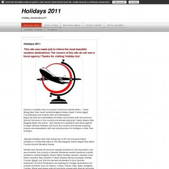 Holidays | News | Top sites