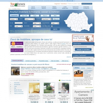 Anunturi imobiliare vanzari si cumparari imobiliare in Romania