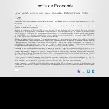 Meditatii Economie